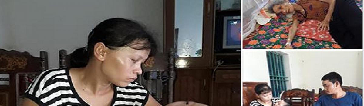 Thái Bình: Vợ chồng anh Nguyễn Hữu Thanh có hoàn cảnh cần giúp đỡ!