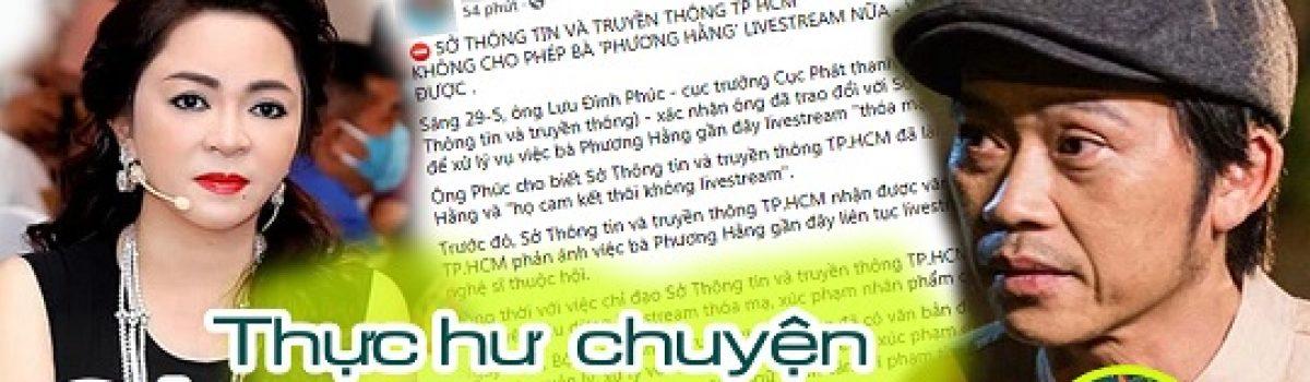 Thực hư chuyện bà Phương Hằng bị cấm sóng livestream   Ai sẽ dám bóc phốt những bí mật showbiz ?
